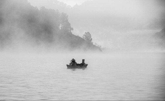 Câu cá hồ Dankia - hồ Suối Vàng
