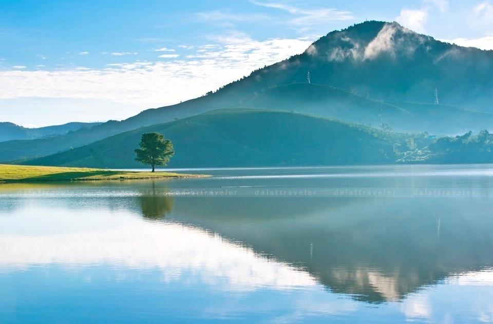 Hồ Dankia - Suối Vàng - hồ nước lớn nhất thành phố Đà Lạt