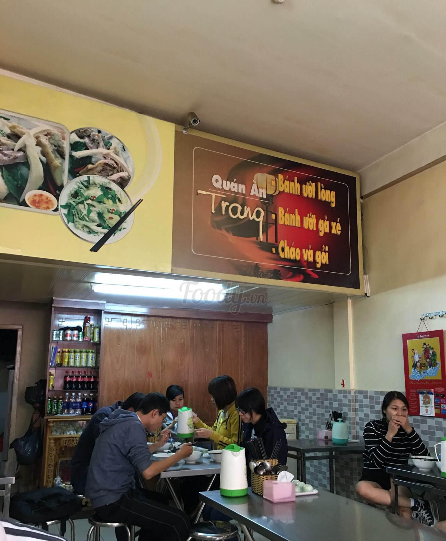 Bánh ướt lòng gà Trang