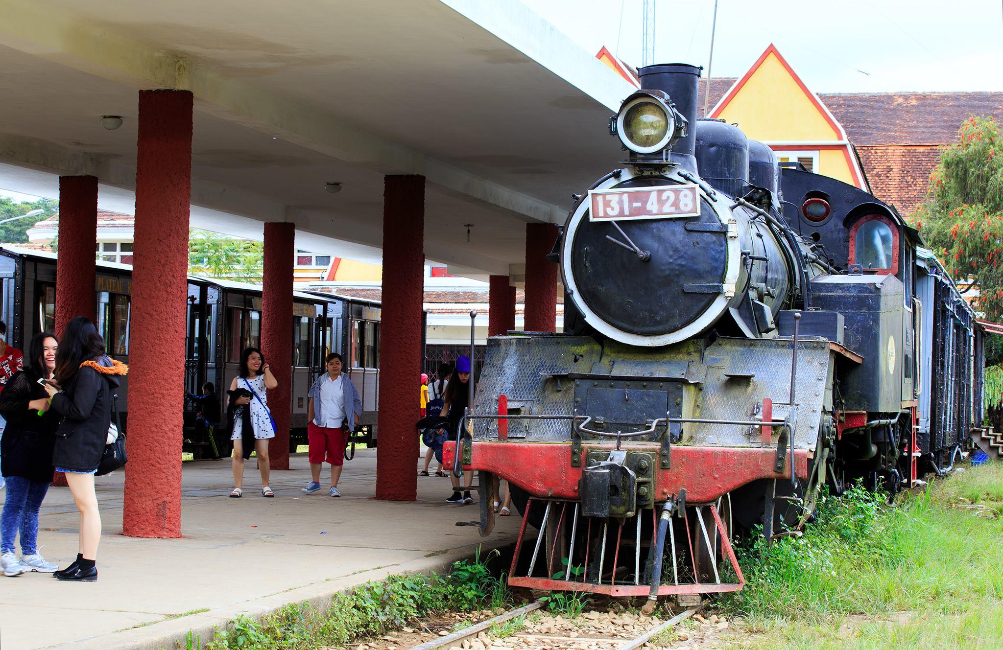 Đầu máy xe lửa chạy bằng hơi nước
