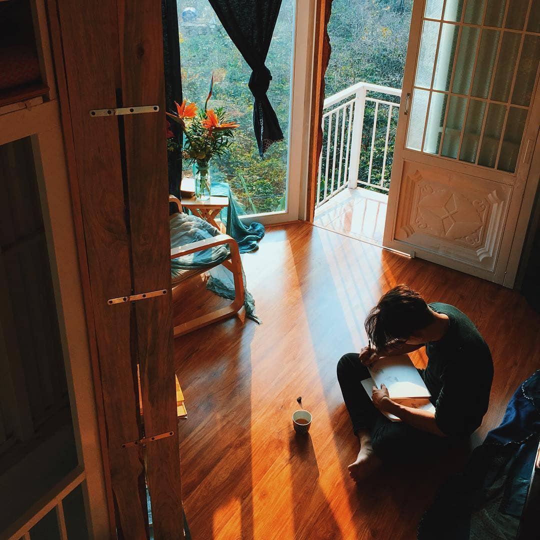 Chiều tà ở INDIgo home