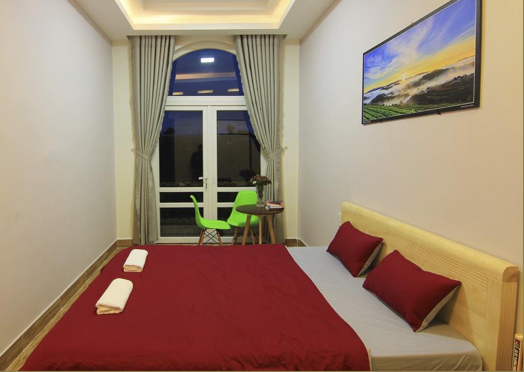Dalat Adventure home hostel với lối thiết kế đơn giản và sang trọng