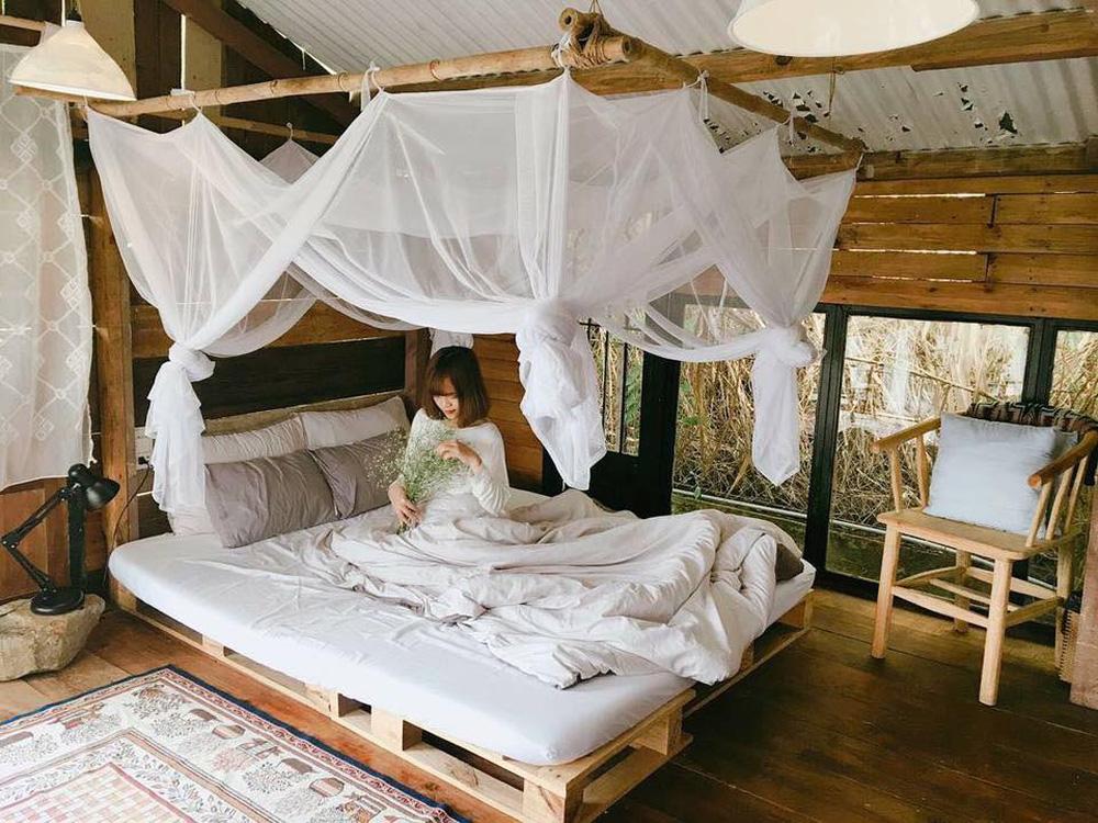 Căn phòng với không gian ấm cúng