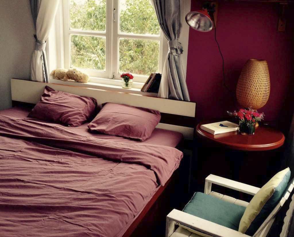 Phòng ngủ tại Nhà của gió