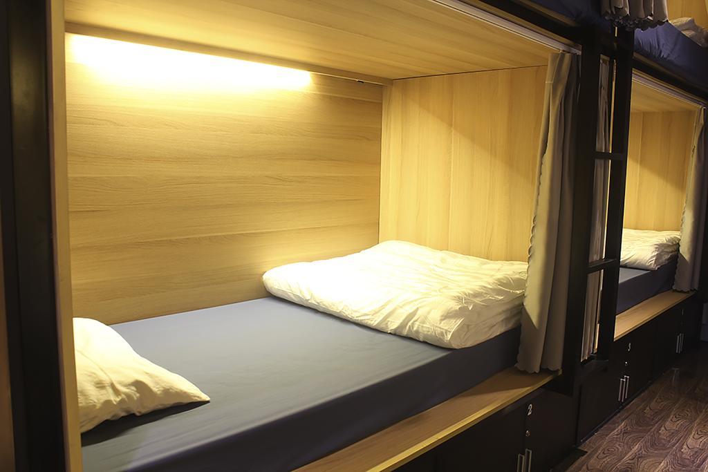 Phòng dorm ở homestay này