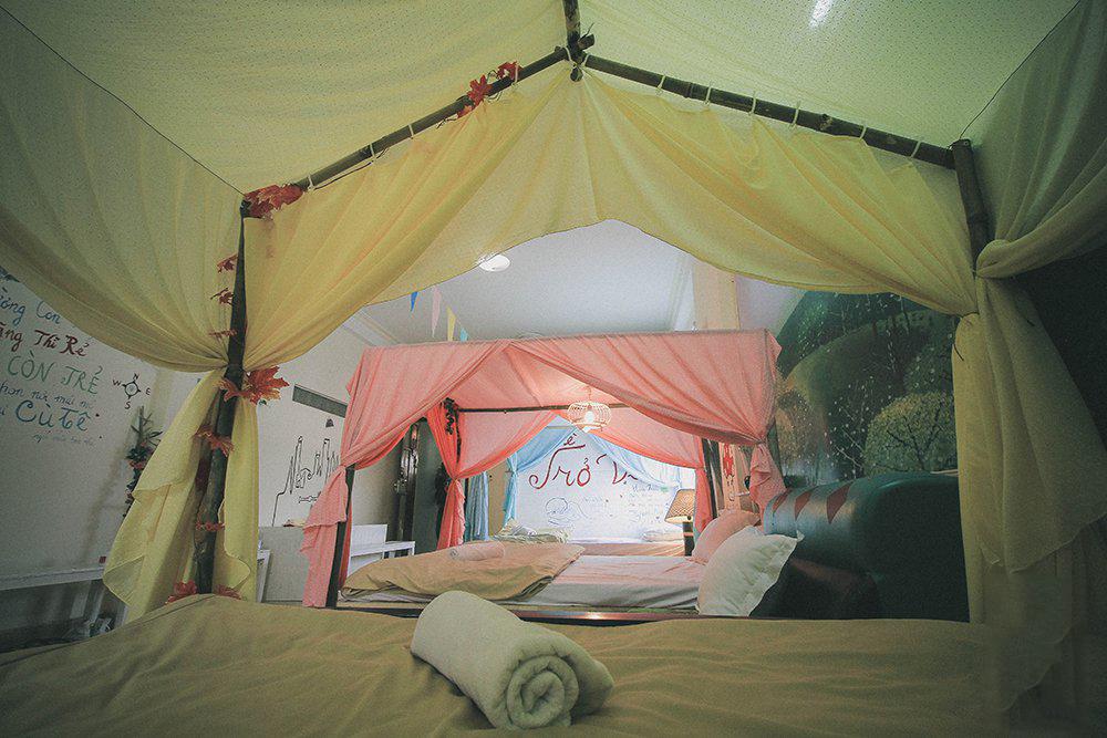 Phòng dorm được thiết kế đẹp mắt