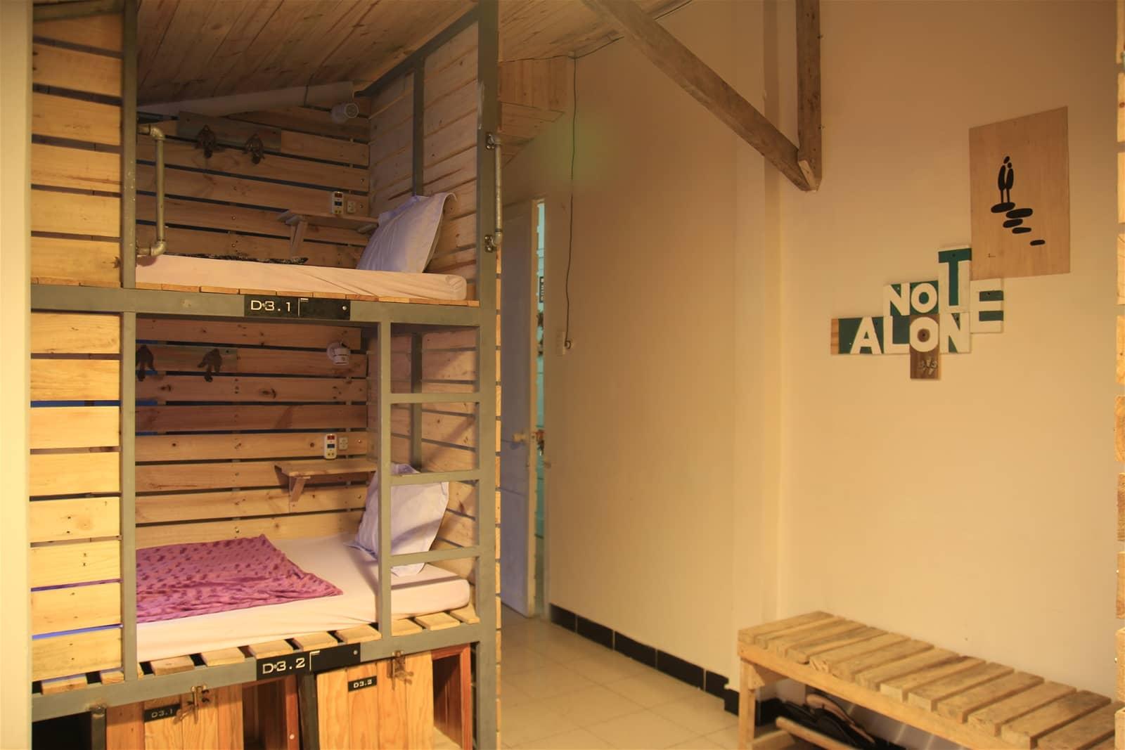 Phòng dorm ấm cúng