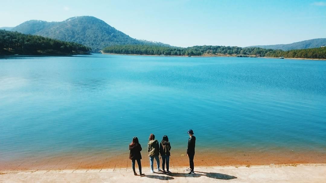 Hồ Tuyền Lâm không thu vé vào cửa