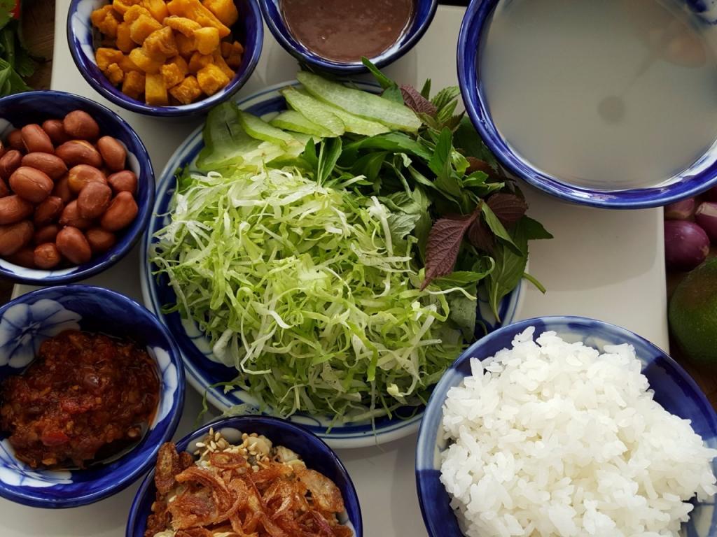 Bữa trưa tại Nhà hàng Kim Gia
