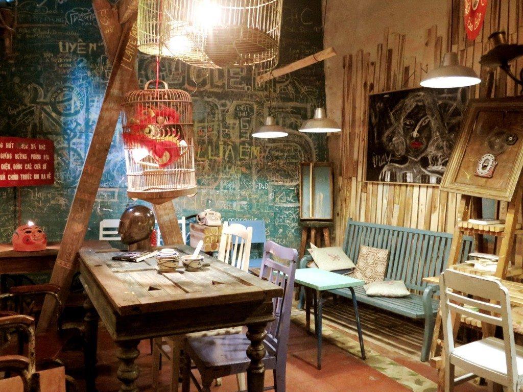 Up cafe Đà Lạt có phong cách trang trí độc đáo