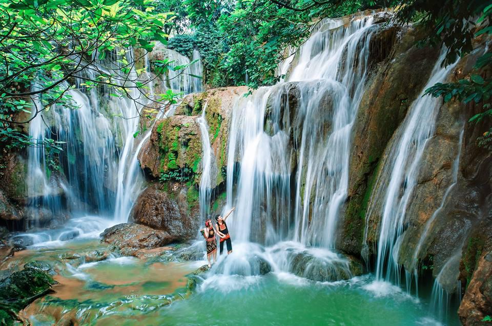 Du lịch thác Camly