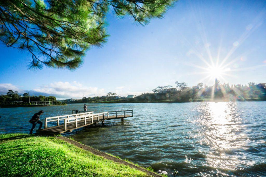 Hình ảnh một góc Hồ Xuân Hương