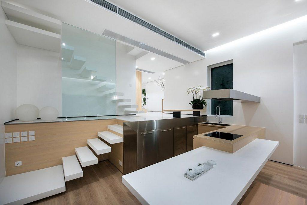 Homestay theo phong cách hiện đại