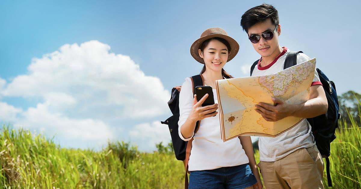 đội ngũ hướng dẫn viên du lịch ở địa phương