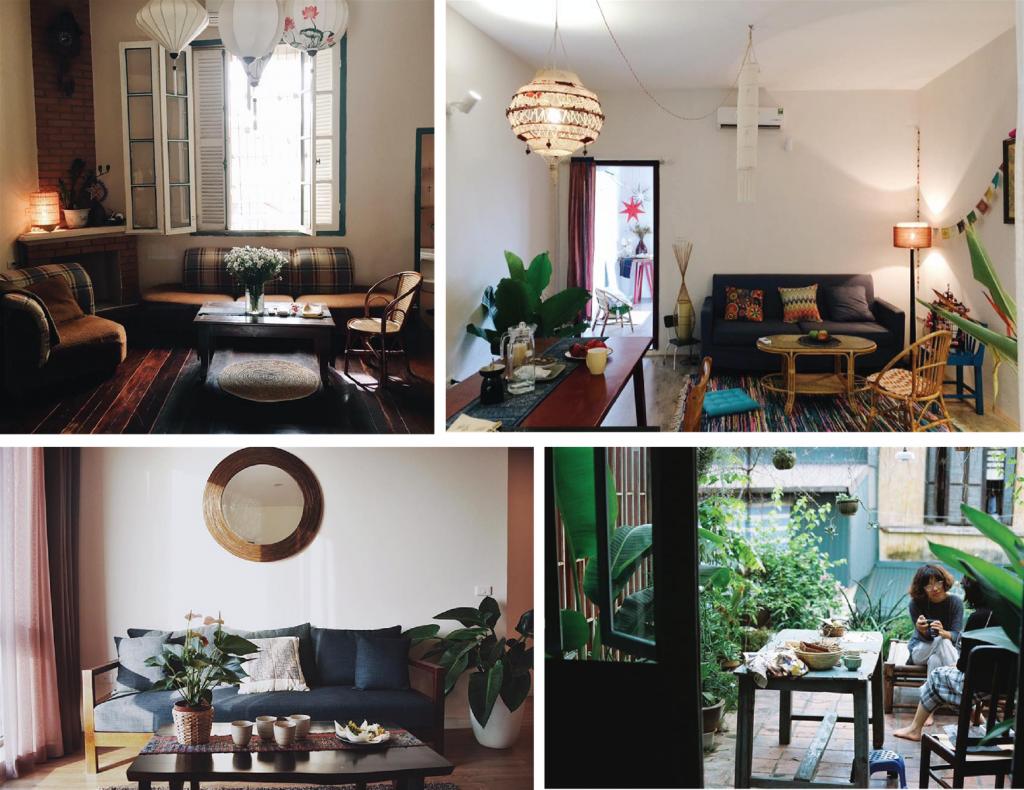 Homestay theo phong cách vintage