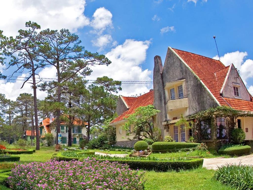 Khu biệt thự ở đường Trần Hưng Đạo đã được sửa sang