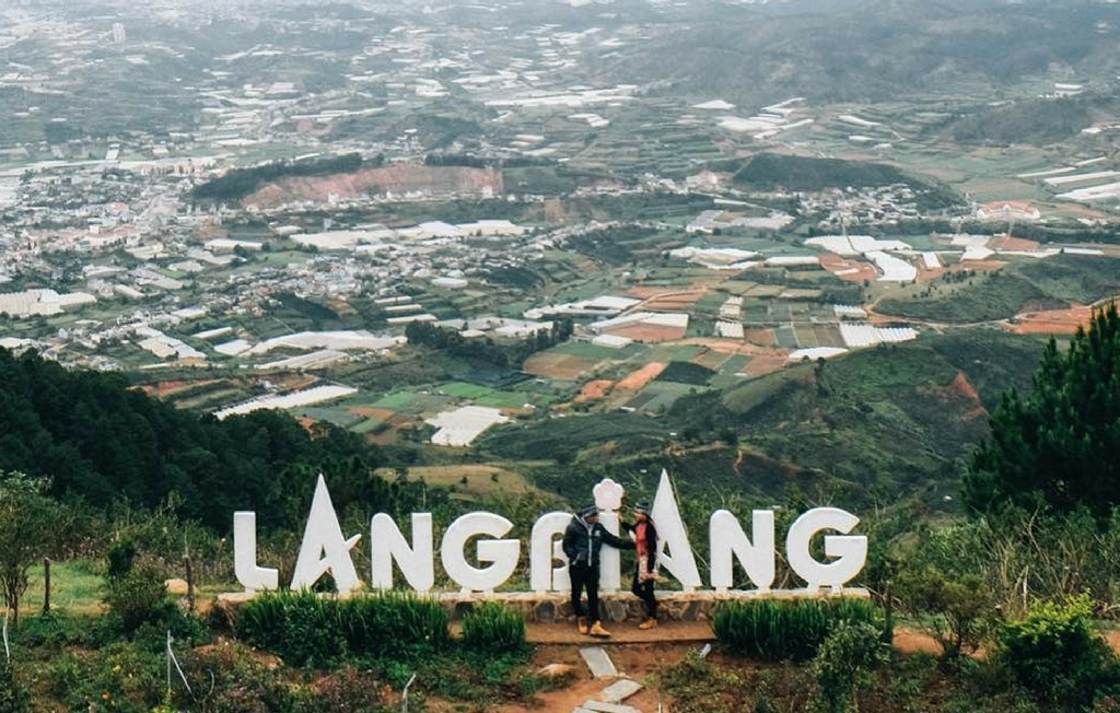 Cao nguyên Lang Biang rộng lớn
