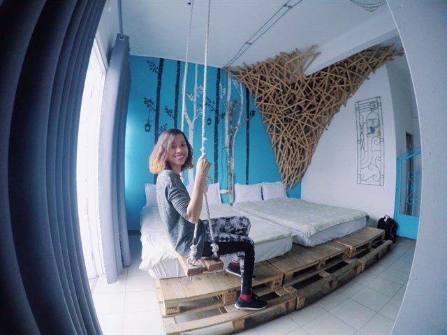 Phòng tập thể, Phòng Dorm là lựa chọn lưu trú của nhiều bạn trẻ tới Đà Lạt.