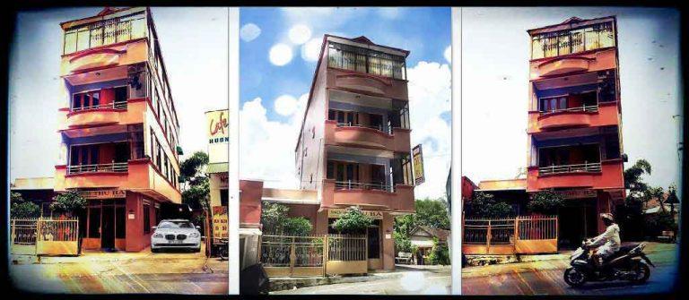 Khách sạn Thu Hà giá rẻ, nằm ngay cạnh chợ Đà Lạt.