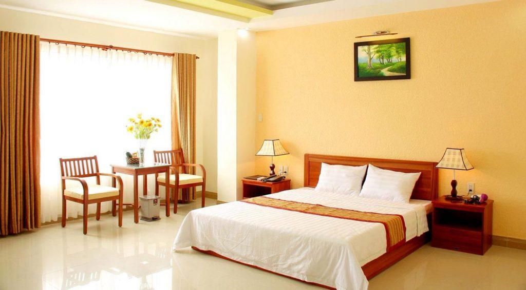 Khách sạn nhà nghỉ ở Đà Lạt khá đẹp và giá phải chăng.