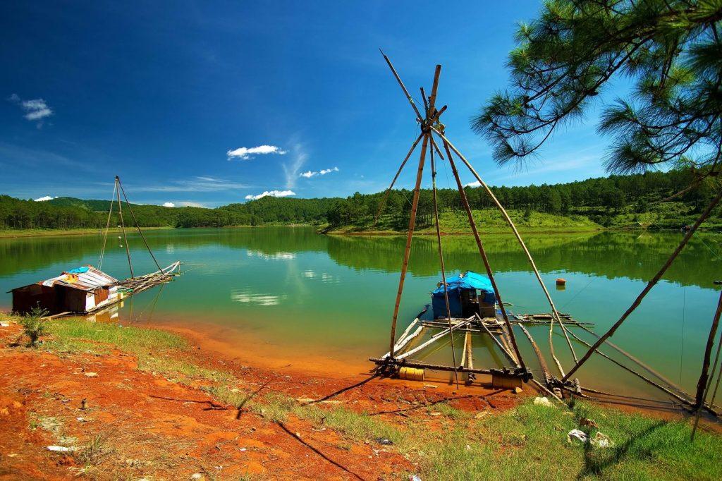 Khu vực Hồ Tuyền Lâm là nơi tập trung nhiều resort nghỉ dưỡng.
