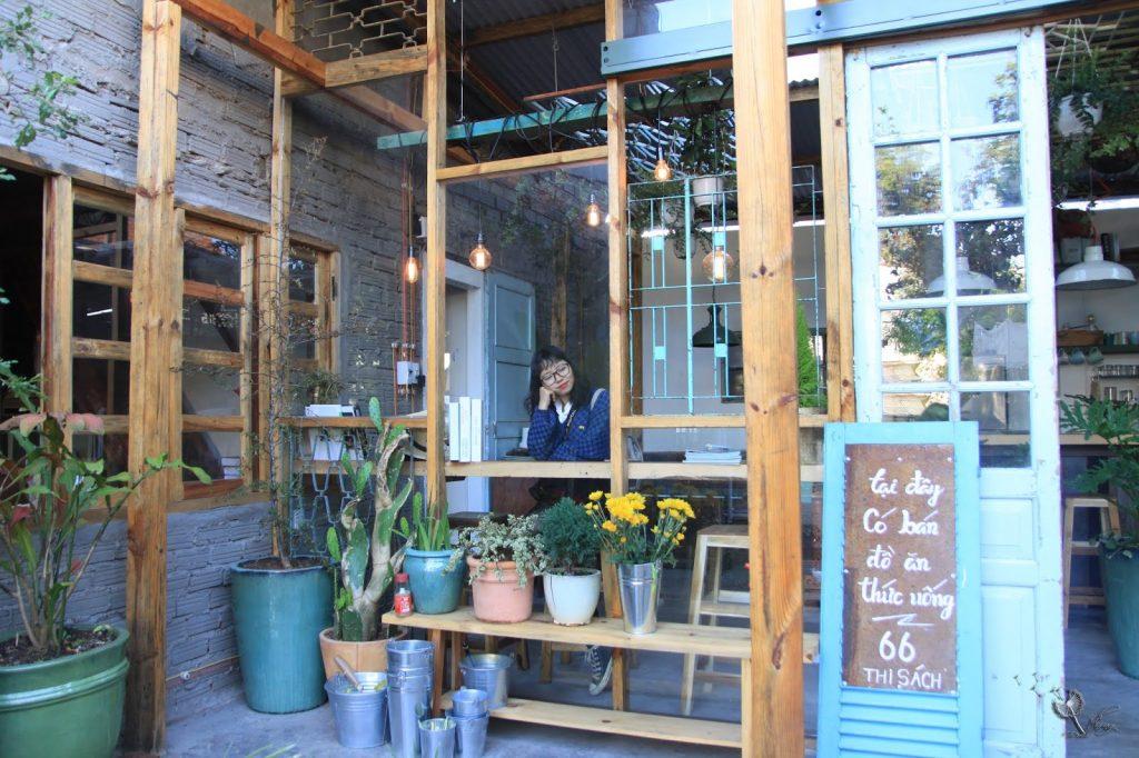Quán cafe mở suốt đêm ở Đà Lạt.