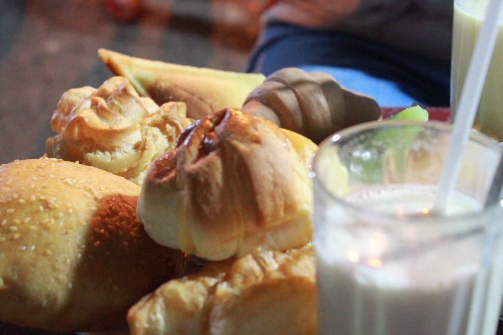 Sữa đậu nành thơm lừng ấm áp Đà Lạt.