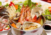 Kiêng ăn hải sản từ 1 – 3 tháng sau khi cắt mí mắt