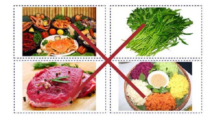 Những thực phẩm nên kiêng sau khi cắt mí